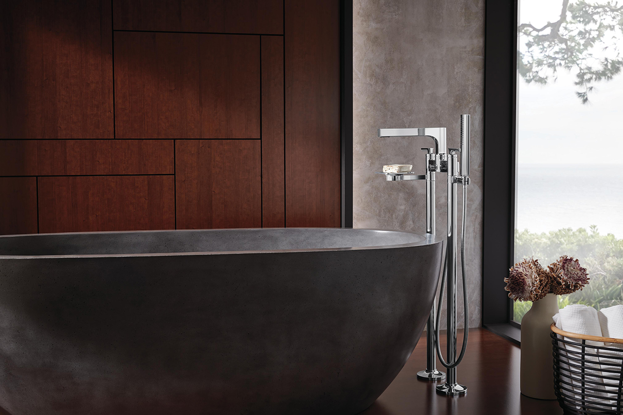 Finding Balance with Brizo's Kintsu Bath Collection