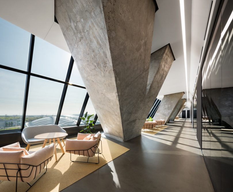 Montreal's Empty Olympic Tower Revived into Offices for Desjardins