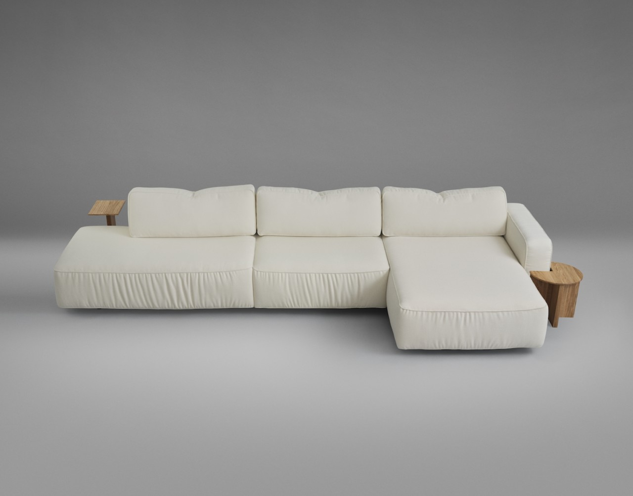 Supersoft Modular Sofa by Note Design Studio