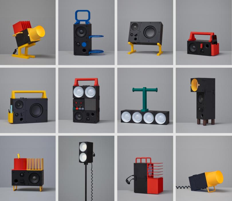 variety of printable designs for IKEA speaker