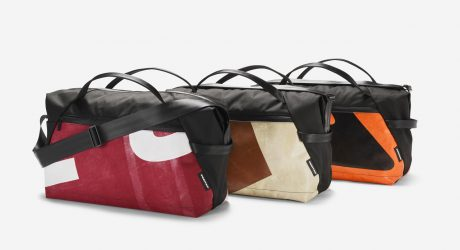 FREITAG Turns Old Truck Tarps into the F660 JIMMY Sports Bag
