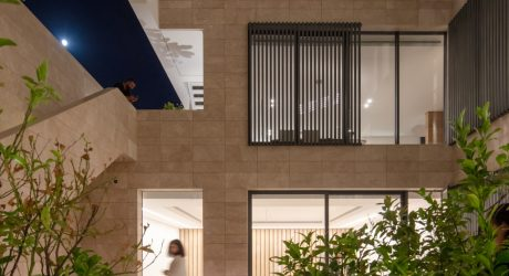 An Introverted House for Two Brothers in the Suburbs of Kuwait