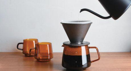 SEPIA Glassware From KINTO Evokes Nostalgia and Comfort