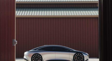 Mercedes-Benz VISION EQS Speeds Toward the Future of Luxury