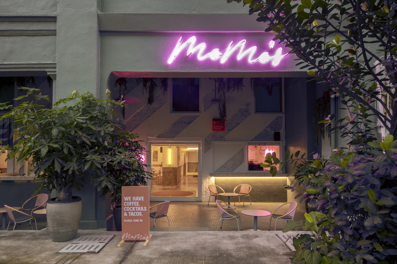 MoMo's Kuala Lumpur Hotel Colors its Red Light District with Fun