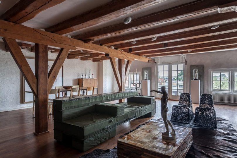 Piet Hein Eek's Outdoor Collection Wins with Minimal Waste + Maximum Reuse