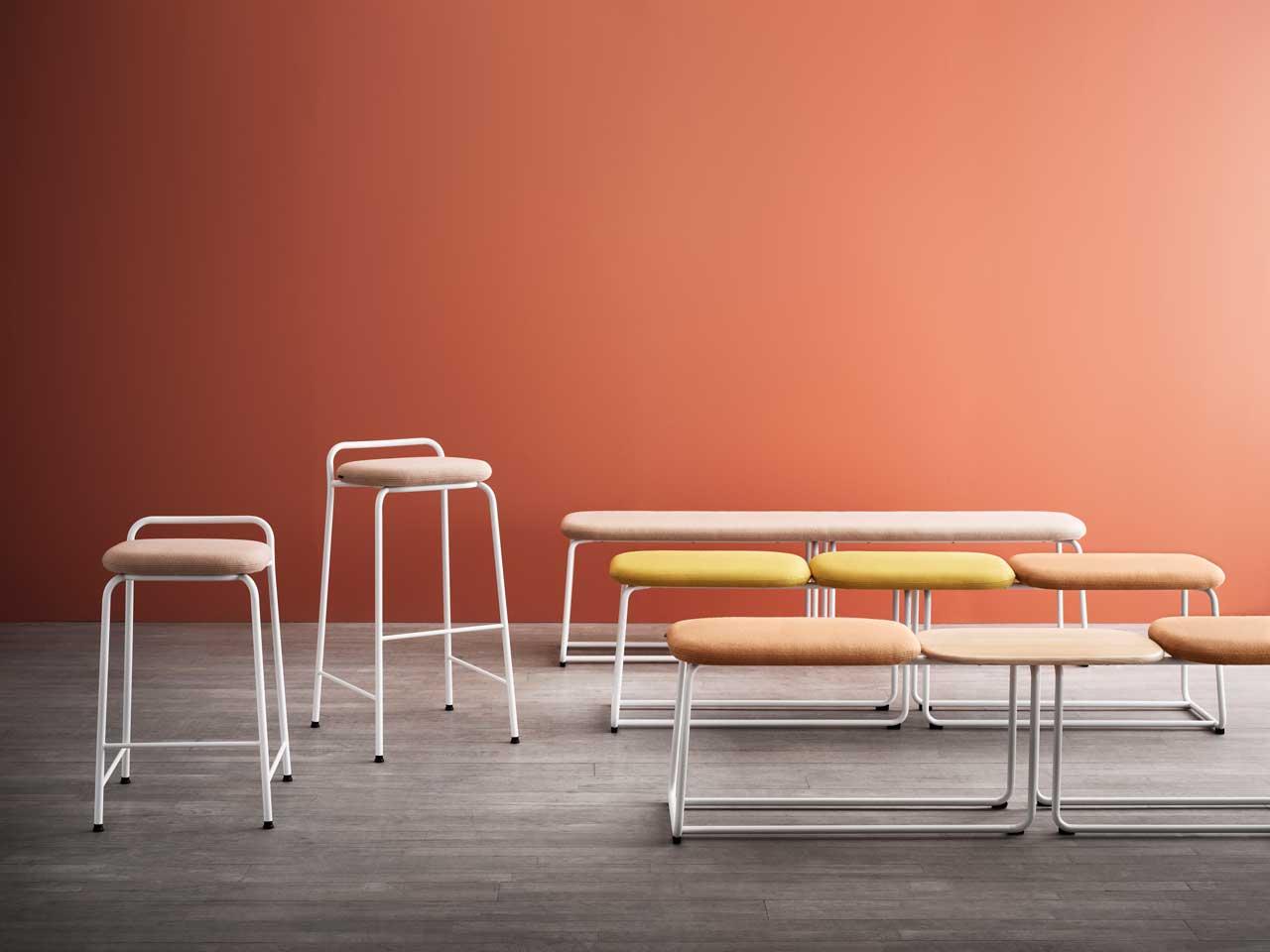 Skandiform Expands the Soft Top Seating Family by Brad Ascalon - Design Milk
