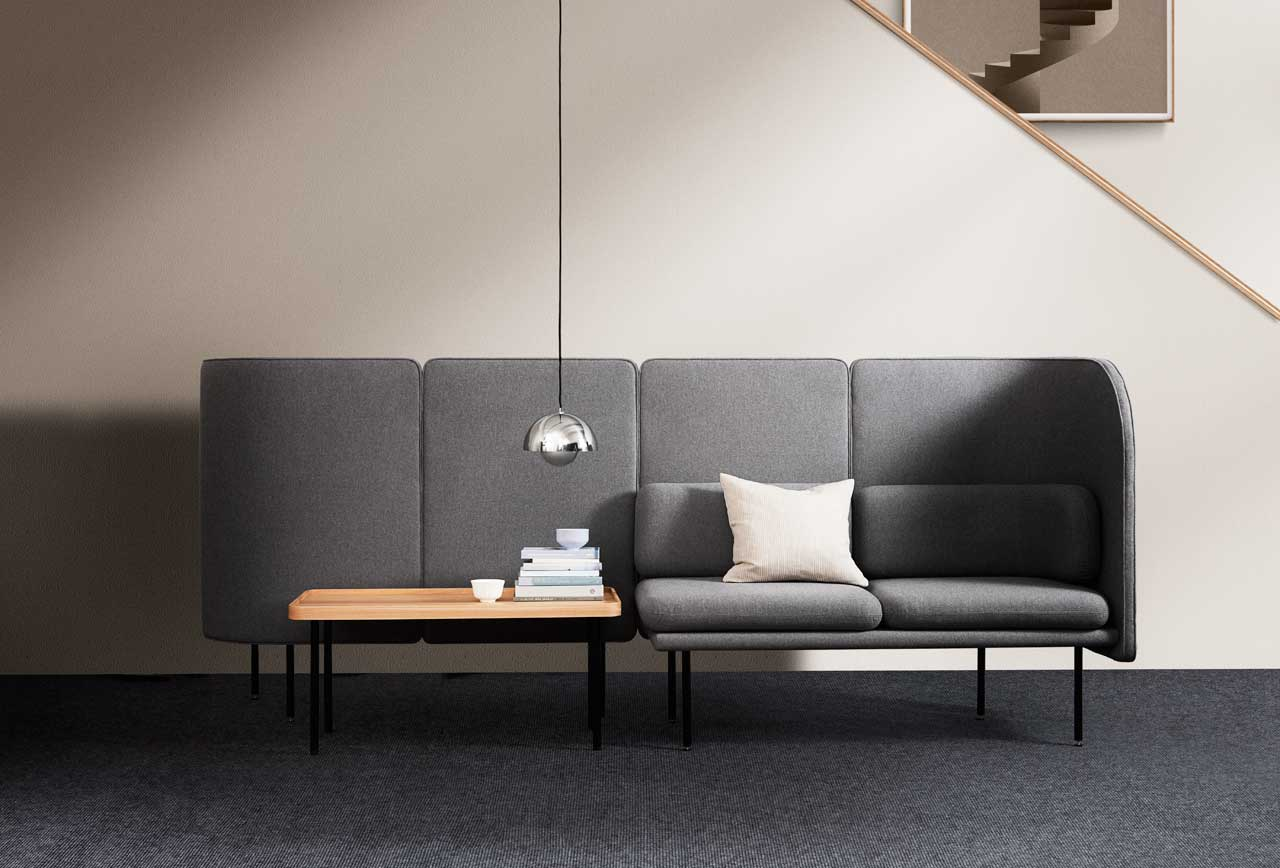 The TUNE Collection Offers Space Division and Sound Absorption - Design Milk