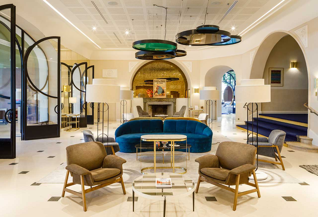 Art Deco Hotel Imperator Re-Opens in Nîmes After Renovation