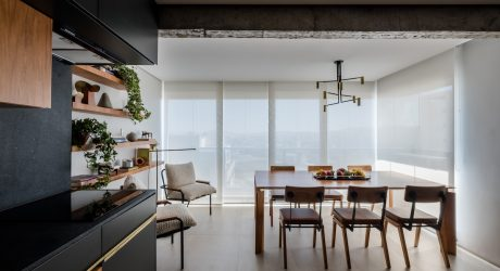 Apartment RJ Is a Contemporary Brazilian Home in Sao Paulo