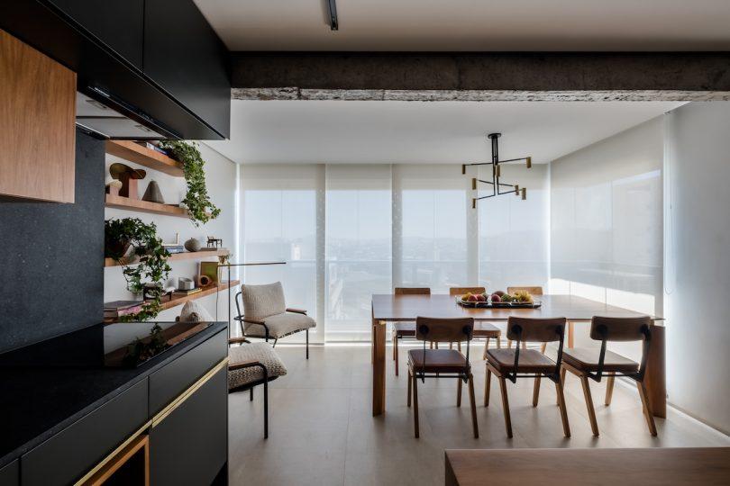 Apartment RJ Is a Contemporary Brazilian Home in Sao Paulo
