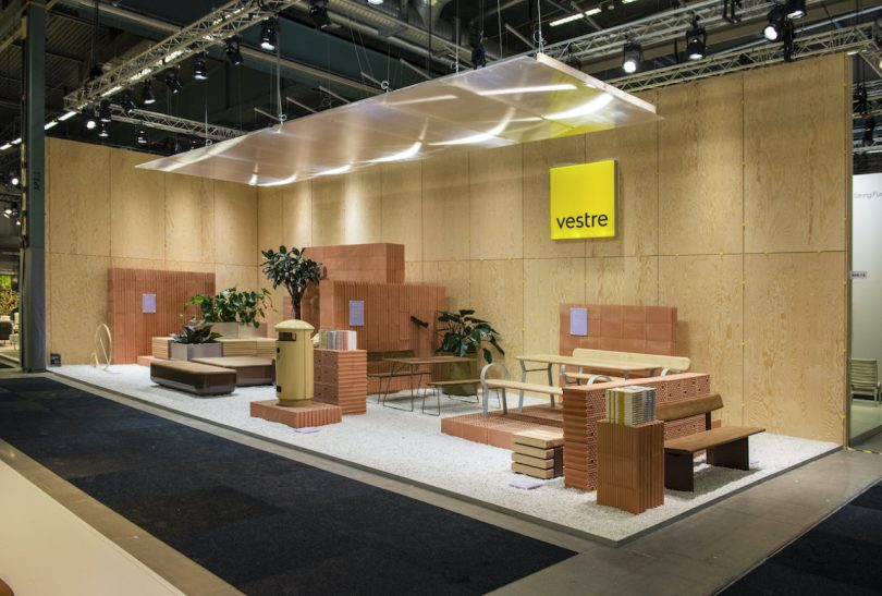 The Vestre Stand by Note Design Studio Minimizes Waste
