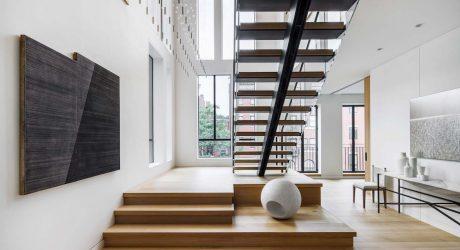 In Boston's Historic District a Minimalist Gem Breaks the Mold