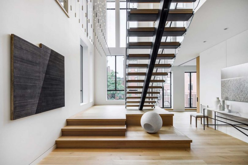 In Boston?s Historic District a Minimalist Gem Breaks the Mold