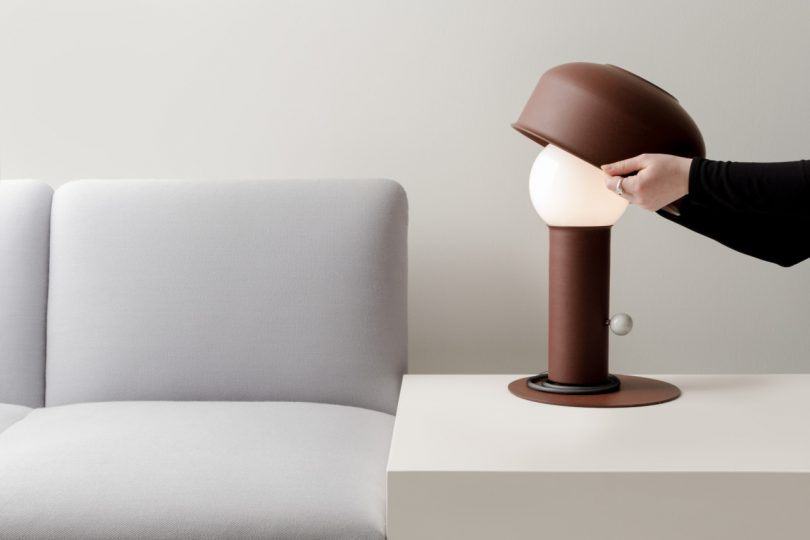 Adjust the Pivot Table Lamp as You Would a Hat on Your Head