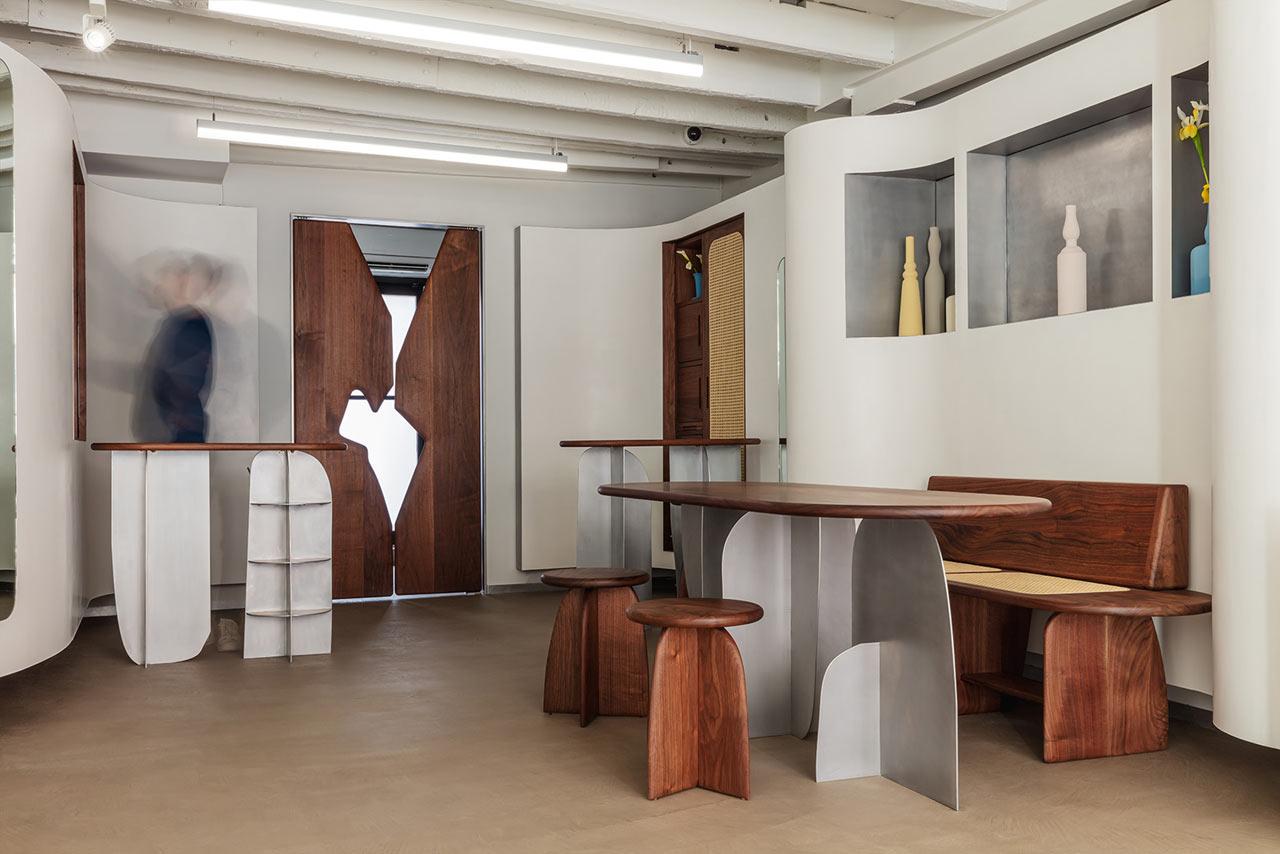 Shapeless Studio Brings Geometric Shapes to the New NYC Ahlem Eyewear Shop