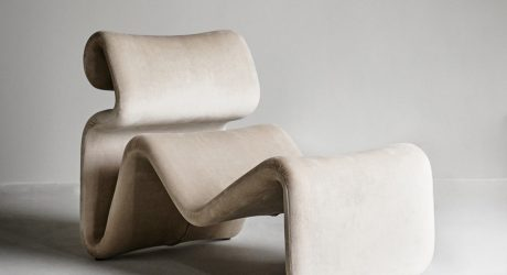 The Iconic Etcetera Chair Relaunches and Goes Ambre
