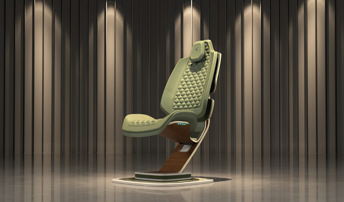 Embraer Paradigma Chair Lands Into the Home Office