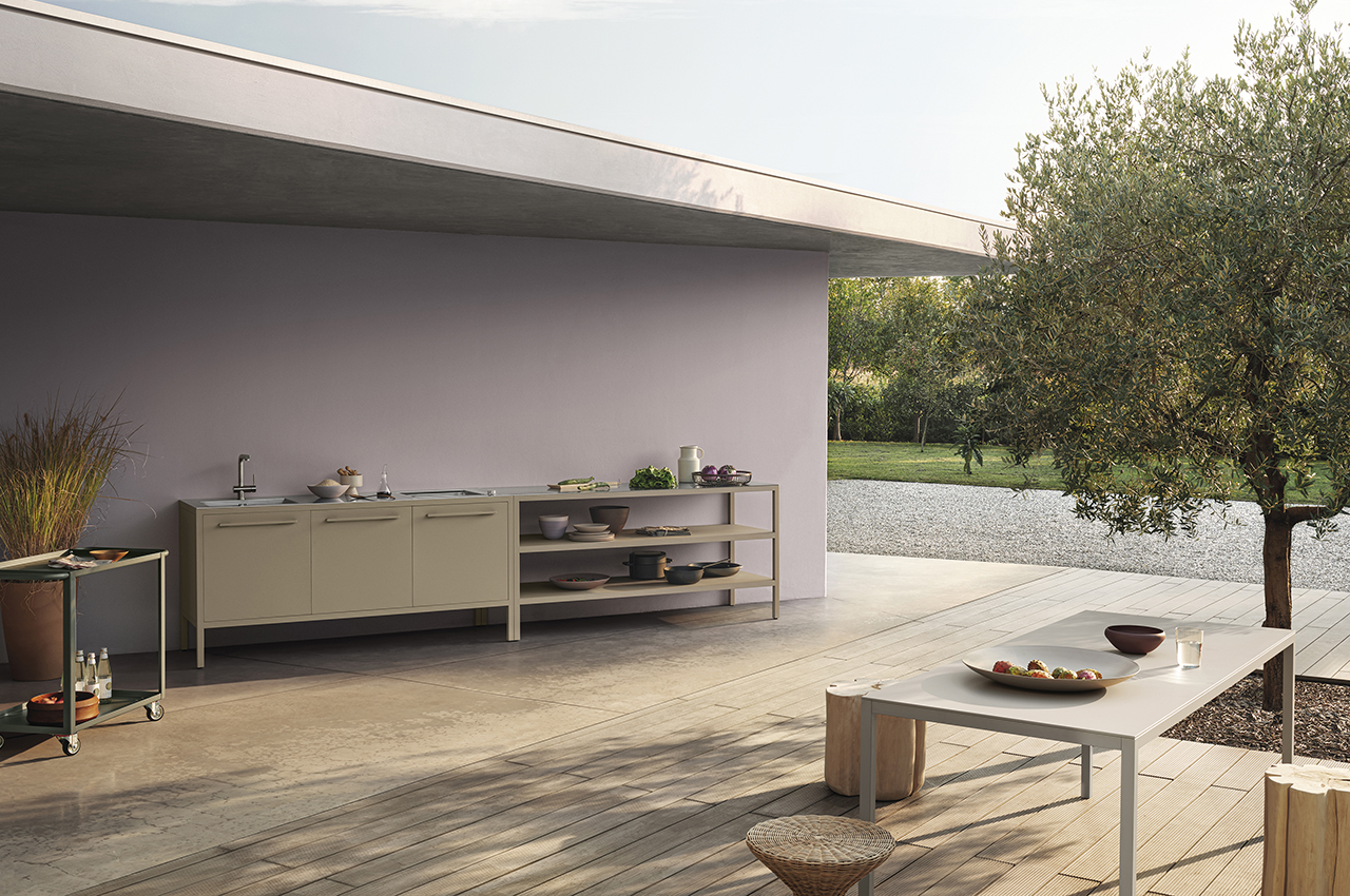 Welcome Spring with the Outdoor Frame Kitchen - Design Milk