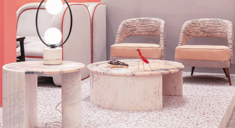 Get Playful with Mambo's Helene Marble Tables