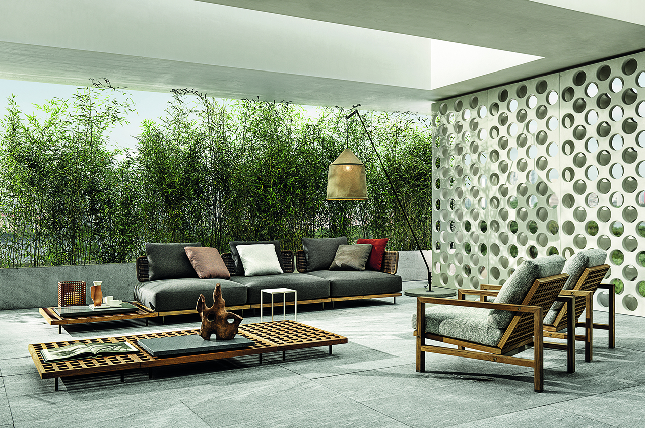 Embrace Stylish Outdoor Living with Minotti's Lifescape Collection