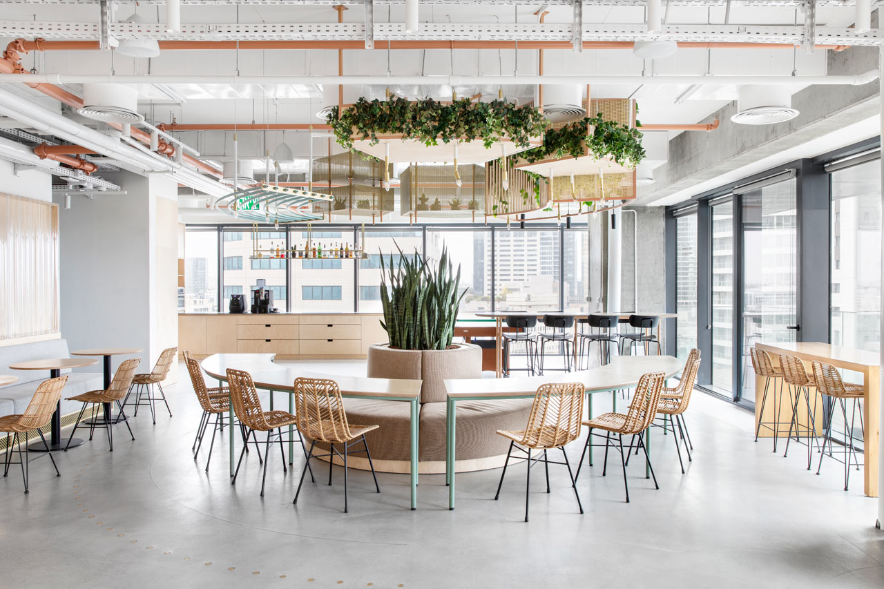The New, Data-Driven Offices of Prospera in Tel Aviv