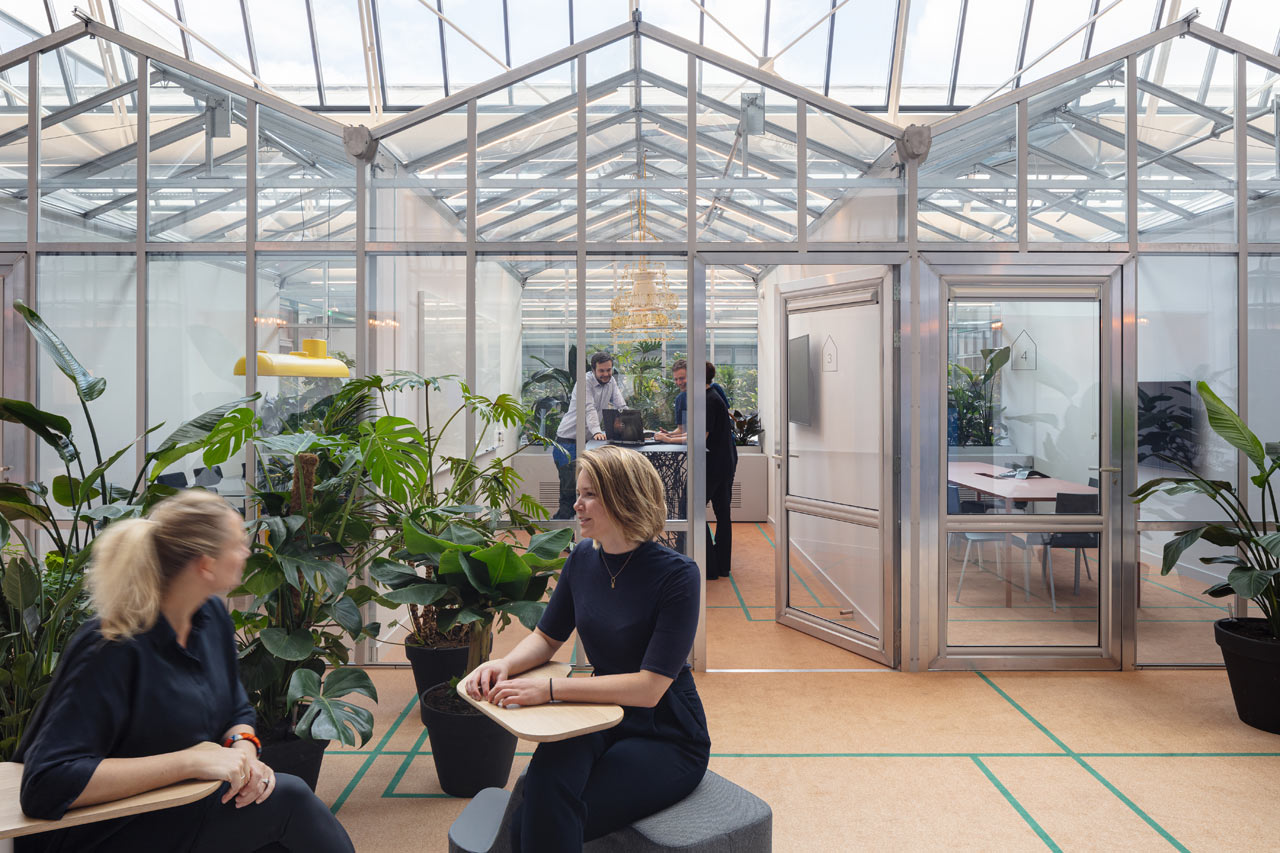 The Core Goes From Car Garage to Innovative Office