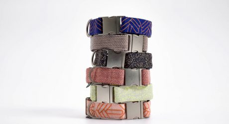 VOLDOG Collars and Leashes Finished with High-End Kvadrat Fabrics