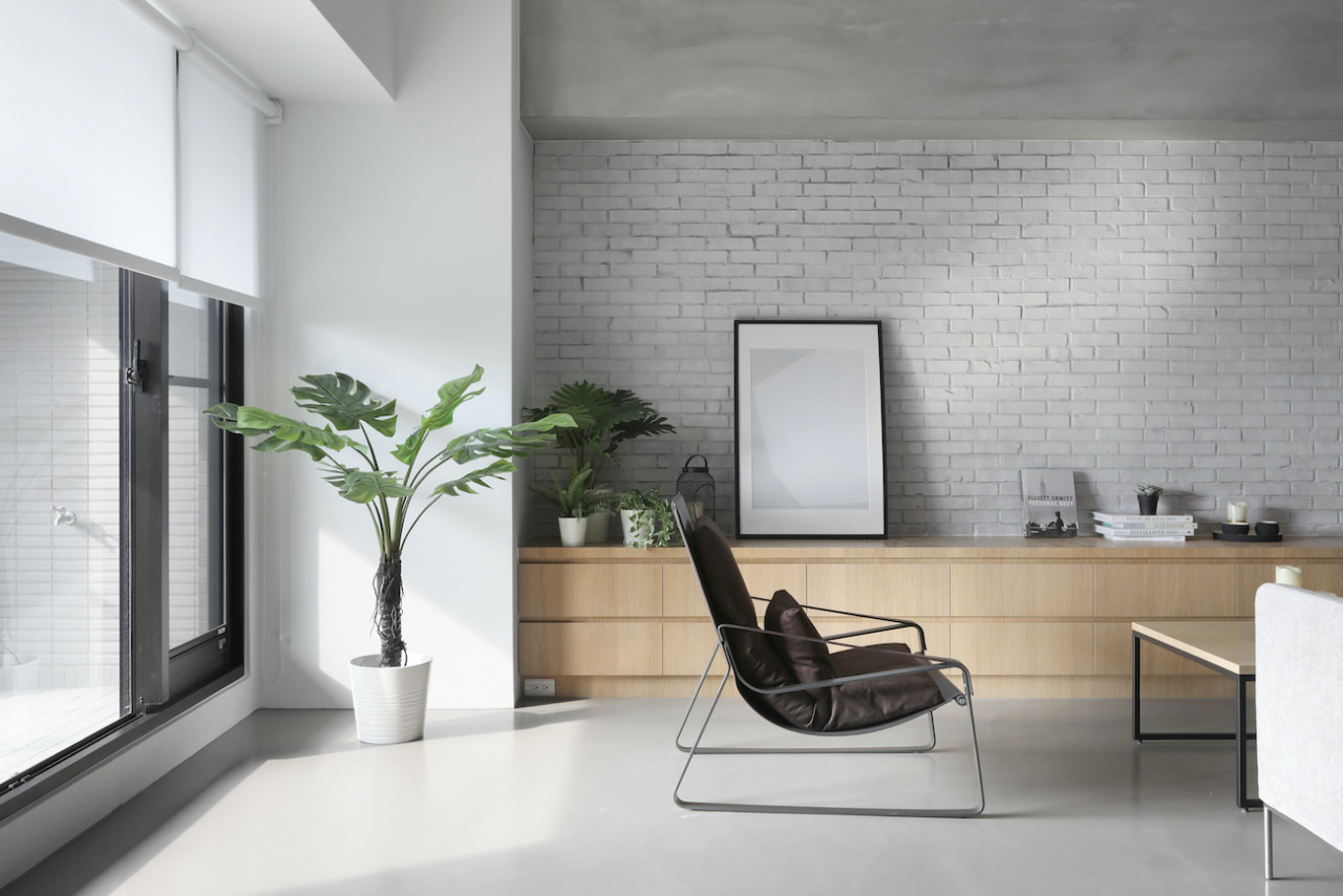 Minimalist Apartment in Taichung by THEY Department - Design Milk