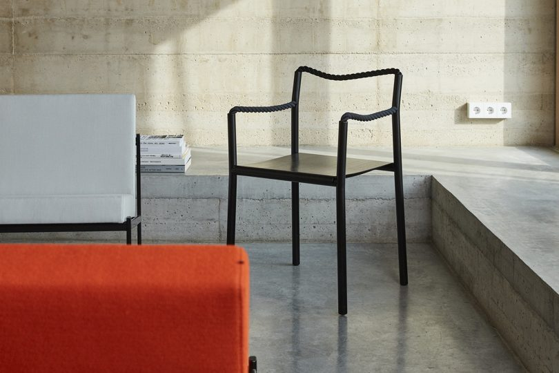 The Rope Chair by the Bouroullec Brothers Is Inspired by Line Drawings