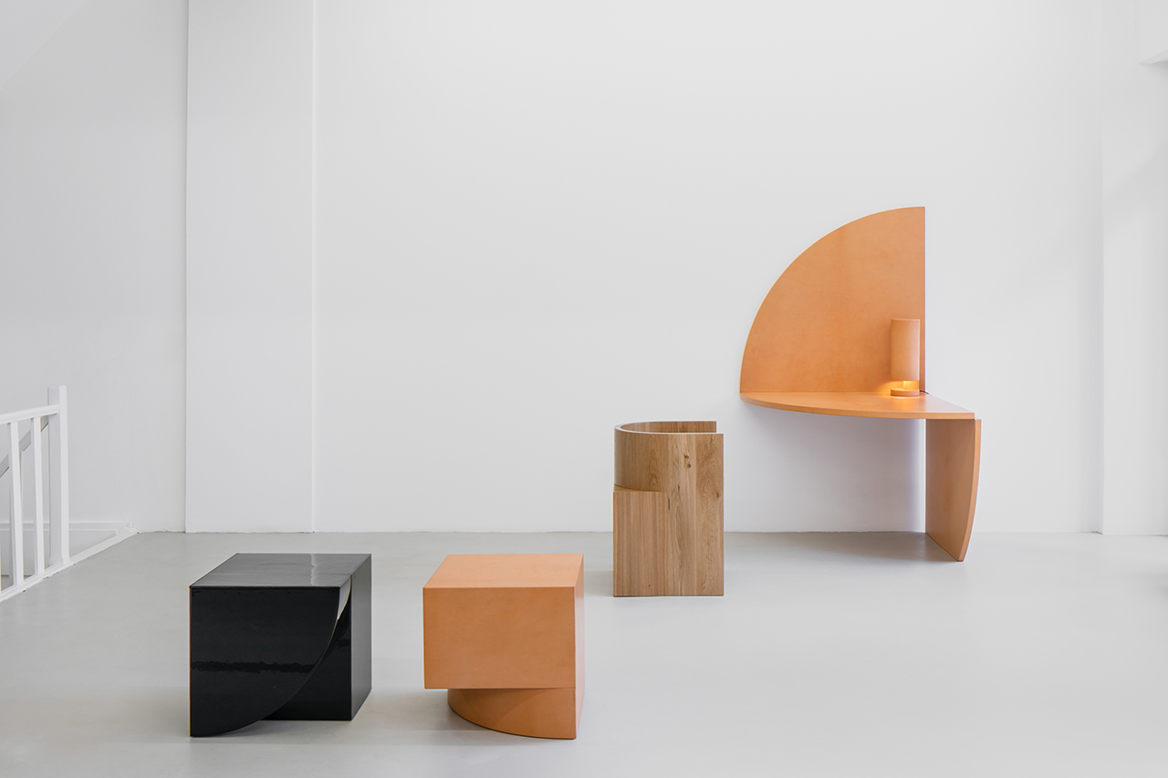 Bernard Dubois + Isaac Reina Explore Geometric Perspectives in Latest Collection