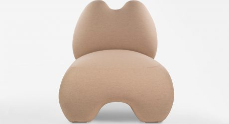 A Cloud-Like Chair Inspired by Ancient Ceramic Sculptures