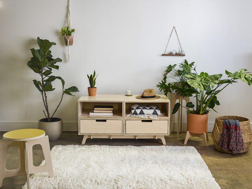 Flitch Furniture Makes Modular Furniture for Customizable Storage