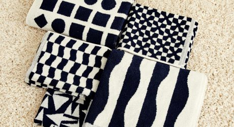 Dusen Dusen Introduces Their Black and White Towel Collection