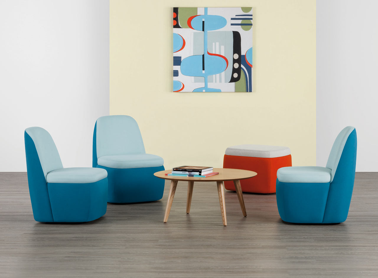 The GoGo Mobile Seating Collection Allows Users to Easily Change Setup