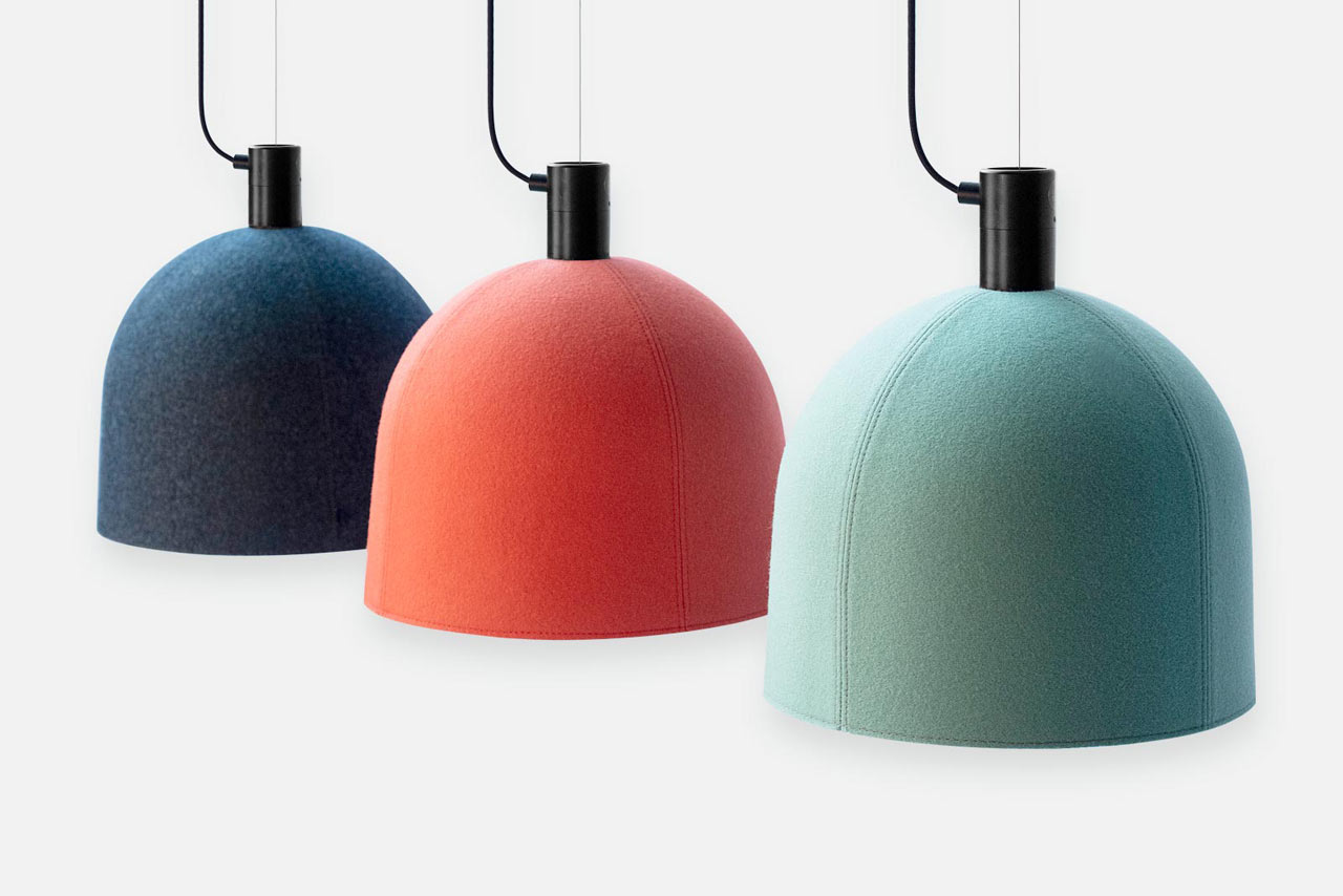Luxxbox Designs Robust Helm Hush Acoustic Pendant Lighting