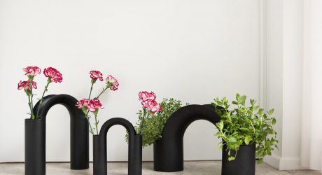 A Bridge-Inspired Vase Collection by Mario Alessiani for XLBoom