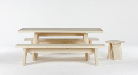 Embrace Switzerland's Joux Valley Through Mazel Wooden Furniture