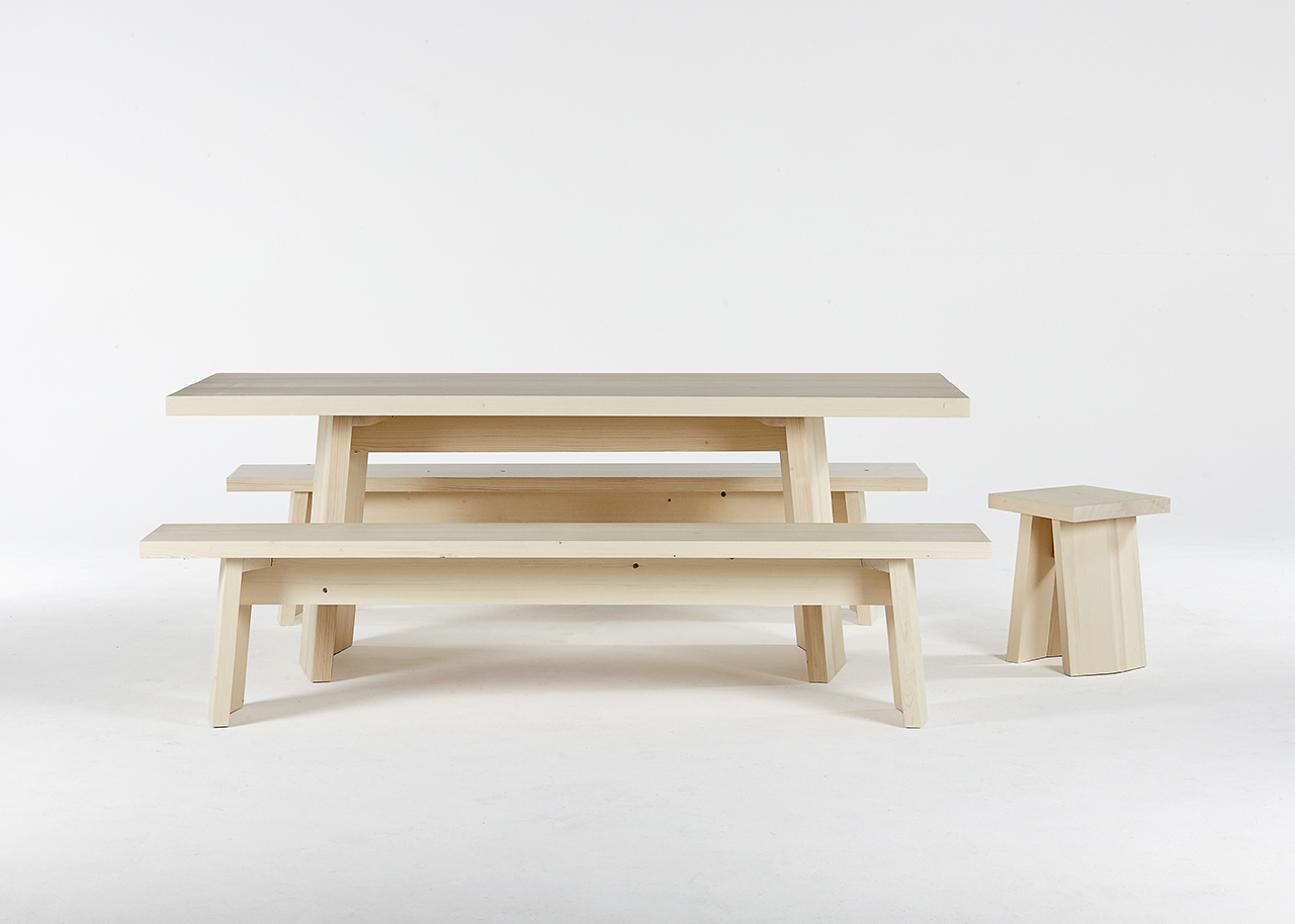 Embrace Switzerland's Joux Valley Through Mazel Wooden Furniture