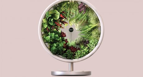 The Rotofarm Is a NASA-Inspired, Sculptural Hydroponic System