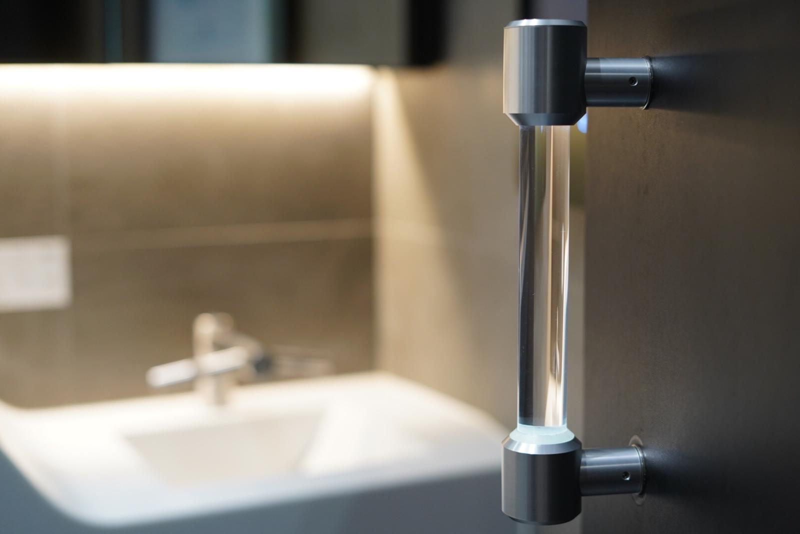 A Self-Sanitizing UV Door Handle May Open the Doors to Better Hygiene