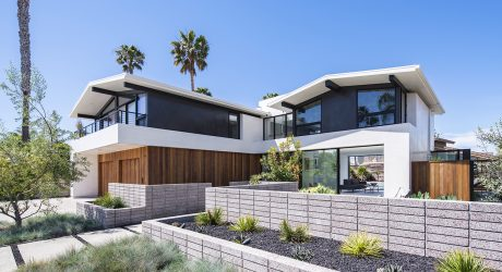 A Remodeled Mid-Century Home Located Steps Away From Huntington Harbor