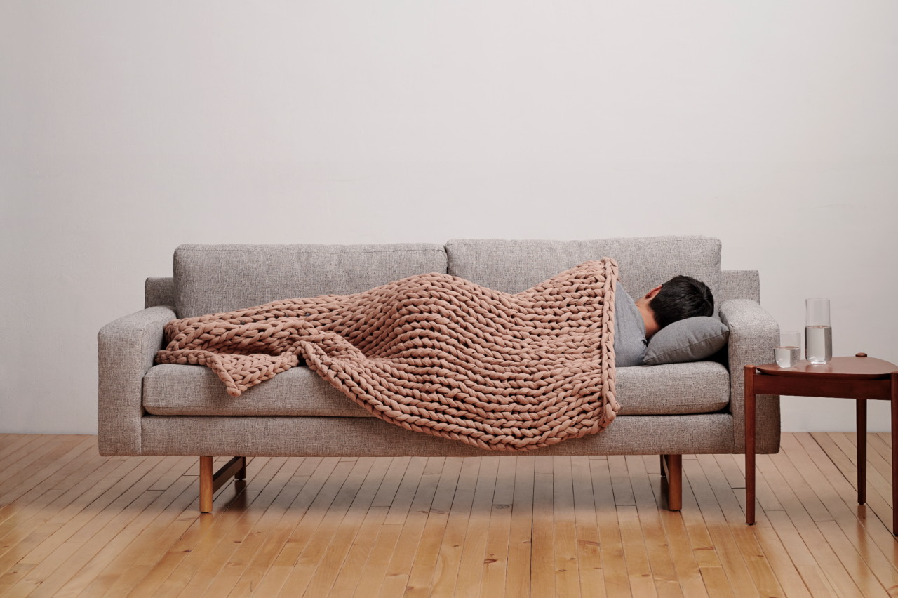 Add Comfort and Remove Stress with Bearaby's Biodegradable Weighted Blankets