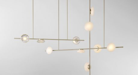 Ceto Lighting Inspired by the Rippling Ocean by Ross Gardam