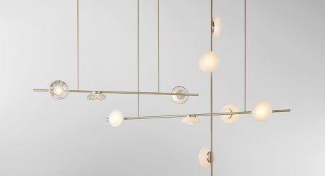 Ceto Lighting Inspired by the Rippling Ocean by Ross Gardam