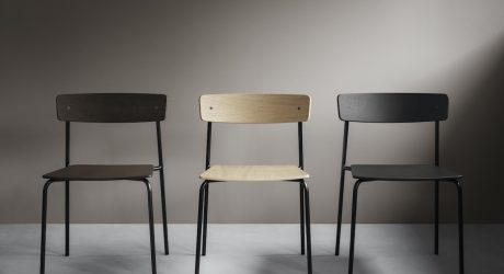 The Minimalist Cross Chair Tube by PearsonLloyd for Takt