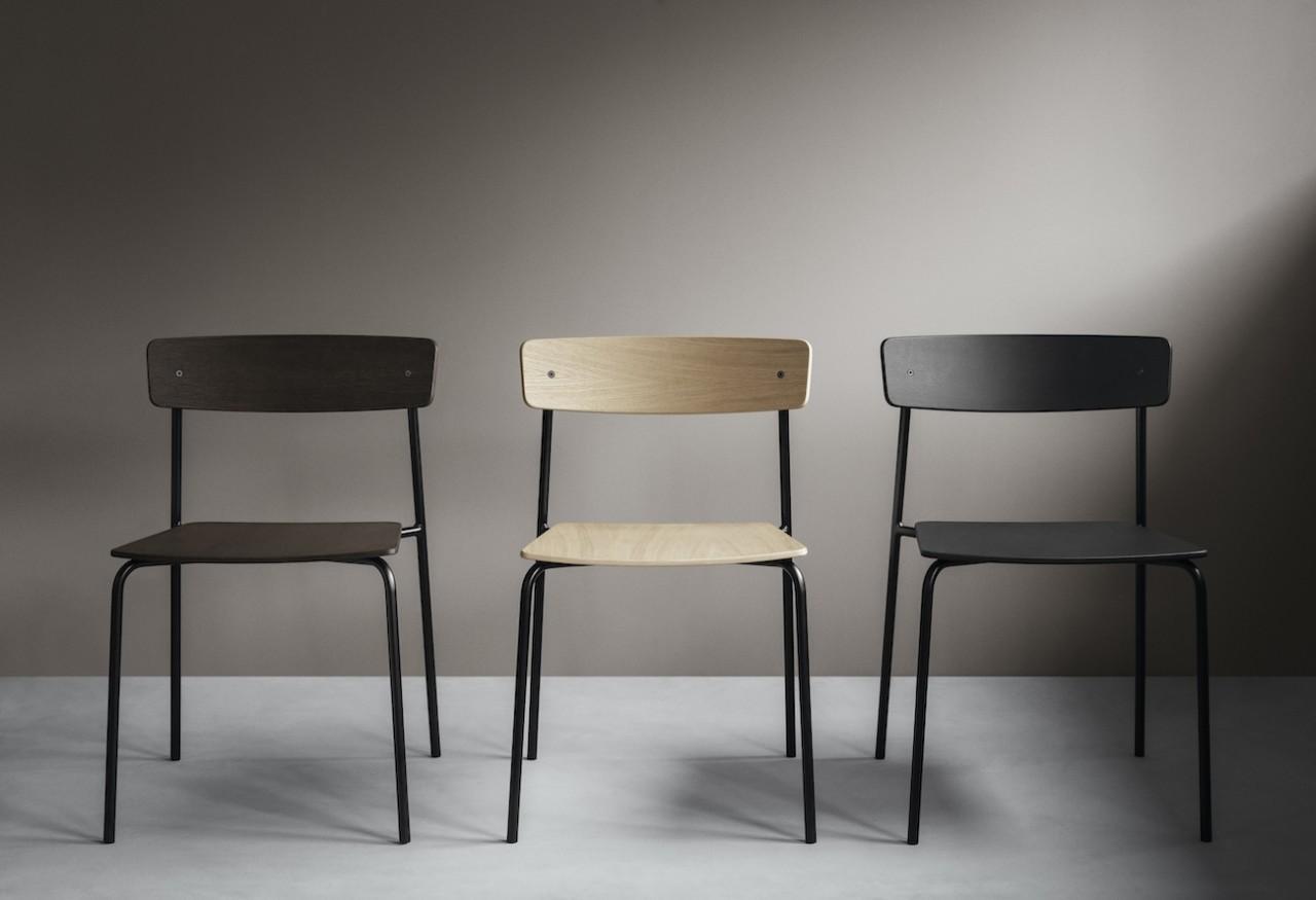 The Minimalist Cross Chair Tube by PearsonLloyd for Takt