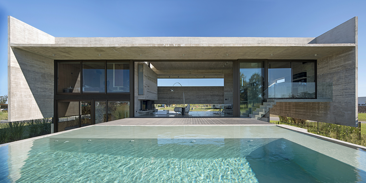 Escobar House Plays with Height and Lines to Create a Sense of Depth