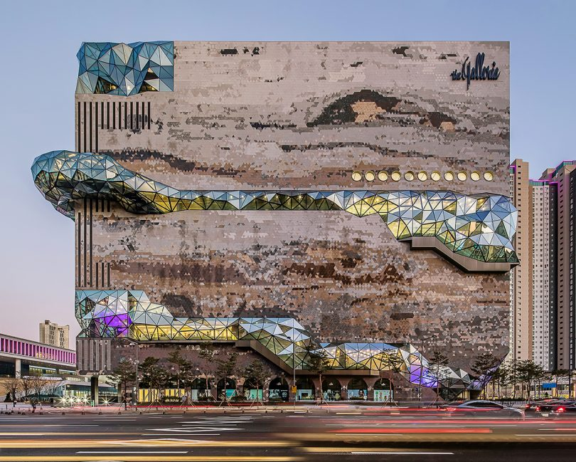 Galleria's New Department Store in Gwanggyo Is a Mosaic Work of Art
