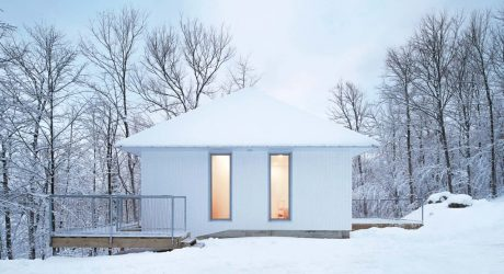 The Minimalist Poisson Blanc Chalet by _naturehumaine